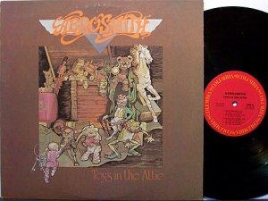Speaking, Aerosmith toys in the attic album consider