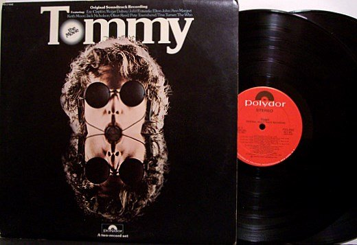 Tommy - Soundtrack - Vinyl 2 LP Record Set - The Who / Ann Margret etc - OST