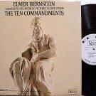 Ten Commandments, The - Soundtrack - White Label Promo - Vinyl LP Record - Mono - 10 - OST