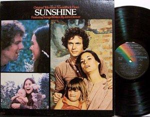 Sunshine - TV Soundtrack - John Denver Songs - Vinyl LP Record - OST