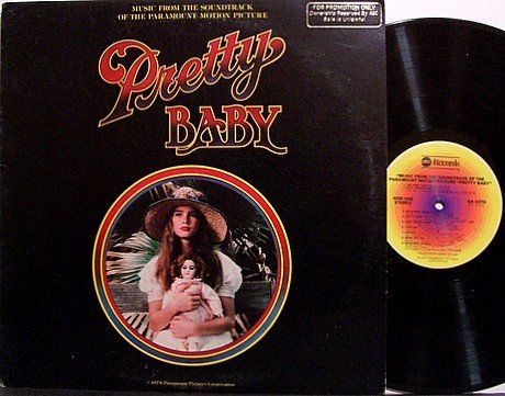 Pretty Baby - Soundtrack - Vinyl LP Record - Promo - OST