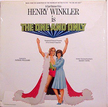 One And Only, The - Soundtrack - Sealed Vinyl LP Record - Henry Winkler / Patrick Williams - OST
