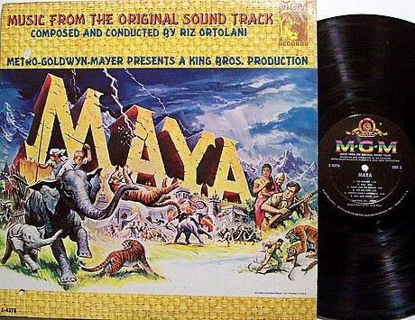 Maya - Soundtrack - Vinyl LP Record - Mono - Riz Ortolani - OST