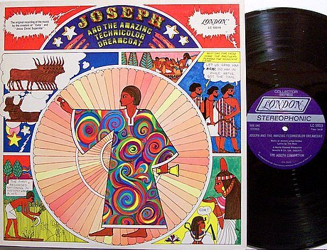 Joseph And The Amazing Technicolor Dreamcoat - Soundtrack - Vinyl LP Record - OST