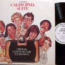California Suite - Soundtrack - White Label Promo - Vinyl LP Record - Claude Bolling - OST