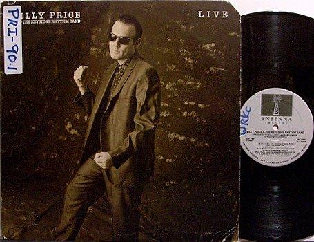 Price, Billy & The Keystone Rhythm Band - Live - Vinyl LP Record - Blues