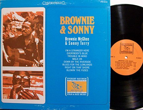 McGhee, Brownie & Sonny Terry - Brownie & Sonny - Vinyl LP Record - Blues