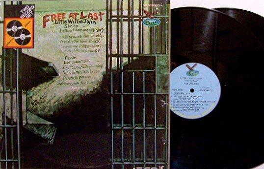 Little Willie John - Free At Last - Vinyl 2 LP Record Set - Blues
