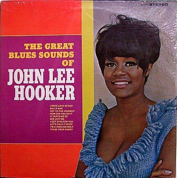 Hooker, John Lee - The Great Blues Sounds Of John Lee Hooker - Sealed Vinyl LP Record