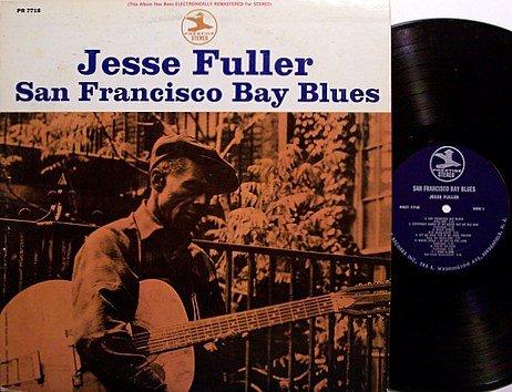 Fuller, Jesse - San Francisco Bay Blues - Vinyl LP Record - Folk Blues