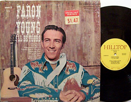 Young, Faron - I'll Be Yours - Vinyl LP Record - Country