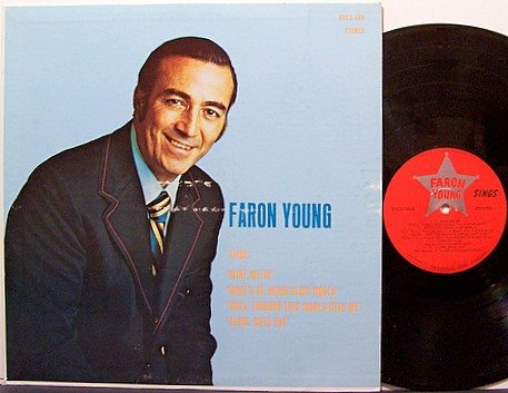 Young, Faron - Faron Young Sings - Vinyl LP Record - Country