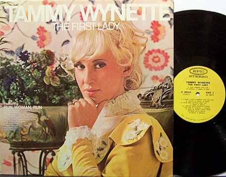 Wynette, Tammy - The First Lady - Vinyl LP Record - Country