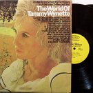 Wynette, Tammy - The World Of Tammy Wynette - Vinyl 2 LP Record Set - Promo - Country
