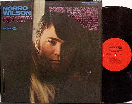 Wilson, Norro - Dedicated To Only You - Vinyl LP Record - Country