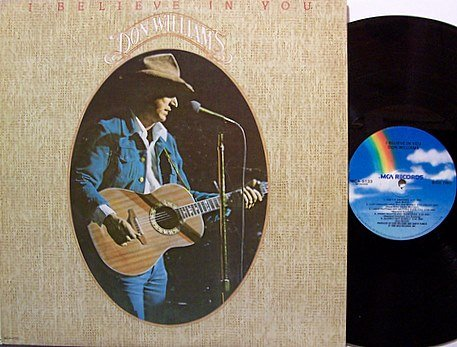 Williams, Don - I Believe In You - Vinyl LP Record - Country