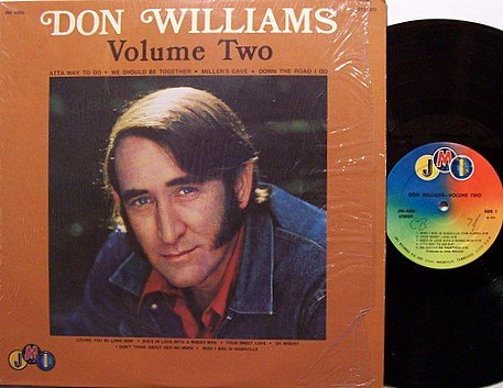 Williams, Don - Volume Two - Vinyl LP Record - Original JMI Label - Country