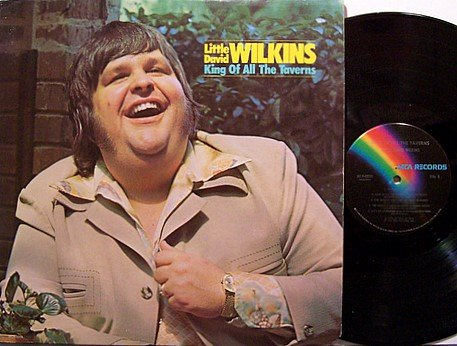 Wilkins, Little David - King Of All The Taverns - Vinyl LP Record - Country