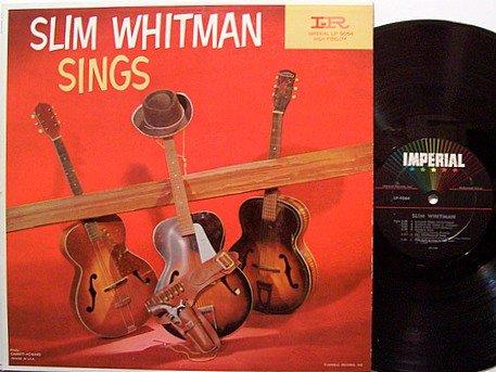 Whitman, Slim - Slim Whitman Sings - Vinyl LP Record - Original Mono - Country