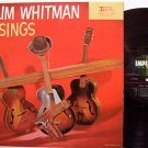 Whitman, Slim - Slim Whitman Sings - Vinyl LP Record - Original Mono - Country