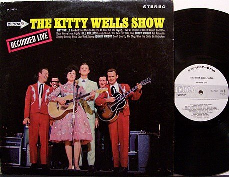 Wells, Kitty - The Kitty Wells Show - Vinyl LP Record - White Label Promo - Country