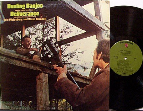 Weissberg, Eric - Dueling Banjos Deliverance - Vinyl LP Record - Bluegrass