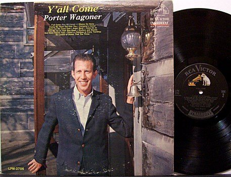 Wagoner, Porter - Y'all Come - Vinyl LP Record - Mono - Country