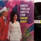 Tubb, Ernest And Loretta Lynn - Singin' Again - Vinyl LP Record - Country