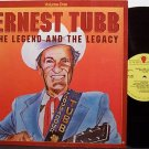 Tubb, Ernest - The Legend And The Legacy Volume One - Vinyl LP Record - Country