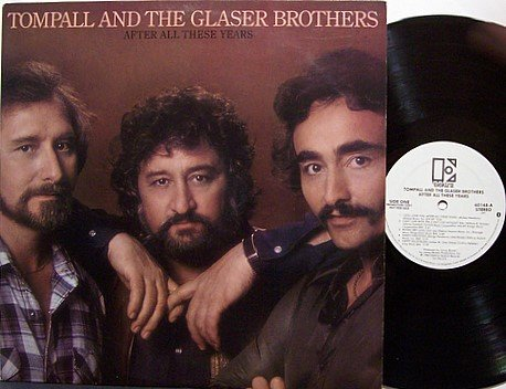 Tompall And The Glaser Brothers - After All These Years - Vinyl LP Record - Promo - Country