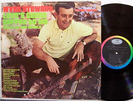 Stewart, Wynn And The Tourists - Love's Gonna Happen to Me - Vinyl LP Record - Mono - Country