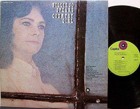 Spears, Billie Jo - Country Girl - Vinyl LP Record