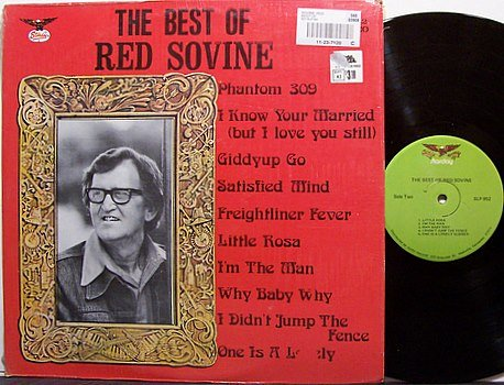 Sovine, Red - The Best Of Red Sovine - Vinyl LP Record - Country