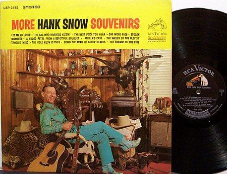 Snow, Hank - More Hank Snow Souvenirs - Vinyl LP Record - Country