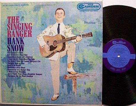 Snow, Hank - The Singing Ranger - Vinyl LP Record - Country