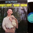 Snow, Hank - The Highest Bidder And Other Favorites - Vinyl LP Record - Country