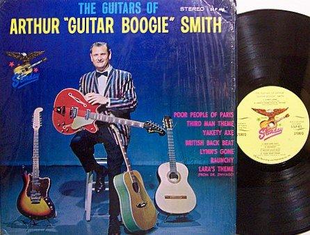 Smith, Arthur Guitar Boogie - The Guitars Of - Vinyl LP Record - Country