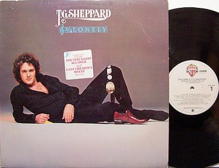 Sheppard, T.G. - 3/4 Lonely - Vinyl LP Record - Promo - Country