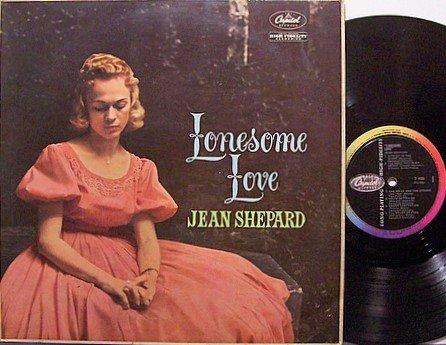 Shepard, Jean - Lonesome Love - UK Pressing - Vinyl LP Record - Country
