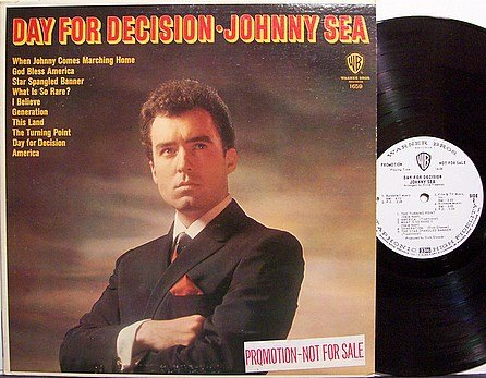 Sea, Johnny - Day For Decision - Vinyl LP Record - White Label Promo - Country Pop