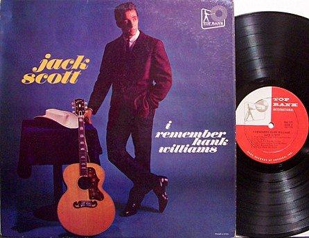 Scott, Jack - I Remember Hank Williams - Vinyl LP Record - Rockabilly Country