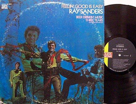 Sanders, Ray - Feelin' Good Is Easy - Vinyl LP Record - Country
