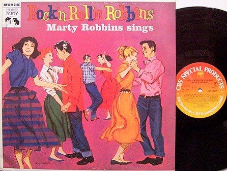 Robbins, Marty - Rock'n Roll'n Robbins - Vinyl LP Record - German Pressing - Country