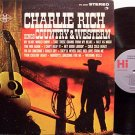 Rich, Charlie - Sings Country & Western - Vinyl LP Record - Promo
