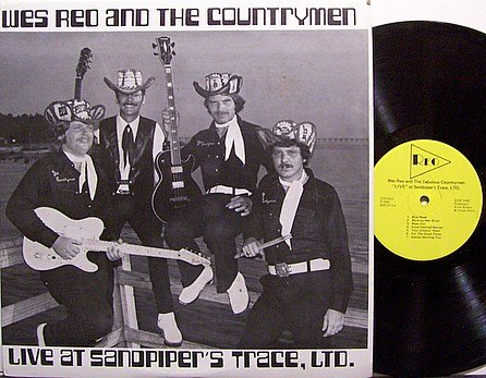 Red, Wes And The Countrymen - Live At Sandpiper's Trace Ltd - Vinyl LP Record - Country