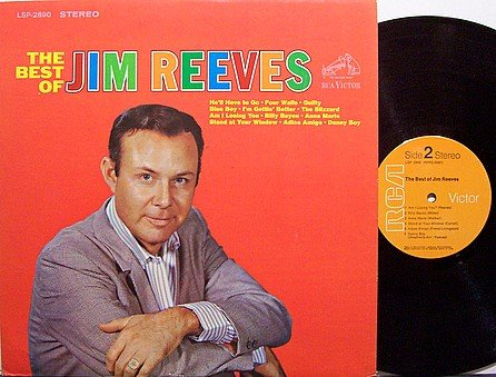 Reeves, Jim - The Best Of Jim Reeves - Stereo - Vinyl LP Record - Country