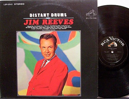 Reeves, Jim - Distant Drums - Vinyl LP Record - Country