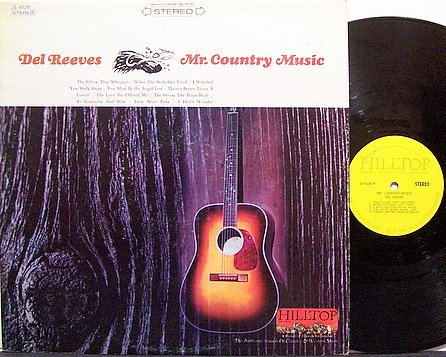 Reeves, Del - Mr. Country Music - Vinyl LP Record - Country