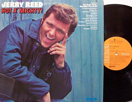 Reed, Jerry - Hot A'Mighty - Vinyl LP Record - Country