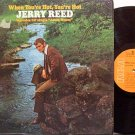 Reed, Jerry - When You're Hot You're Hot - Vinyl LP Record - Country